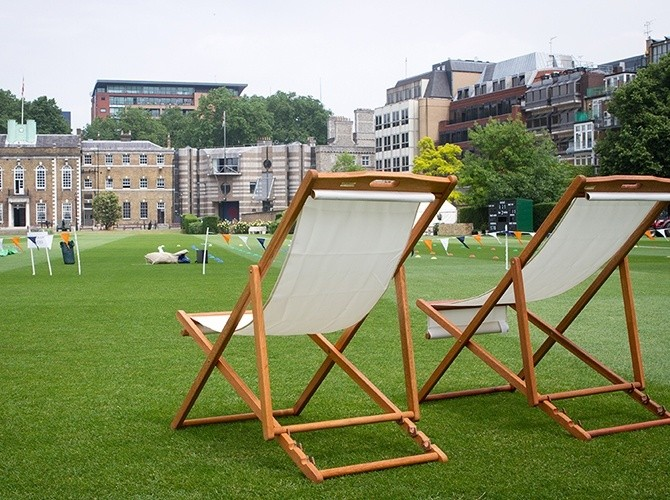 Deck Chairs - Summer Parties and Events in London