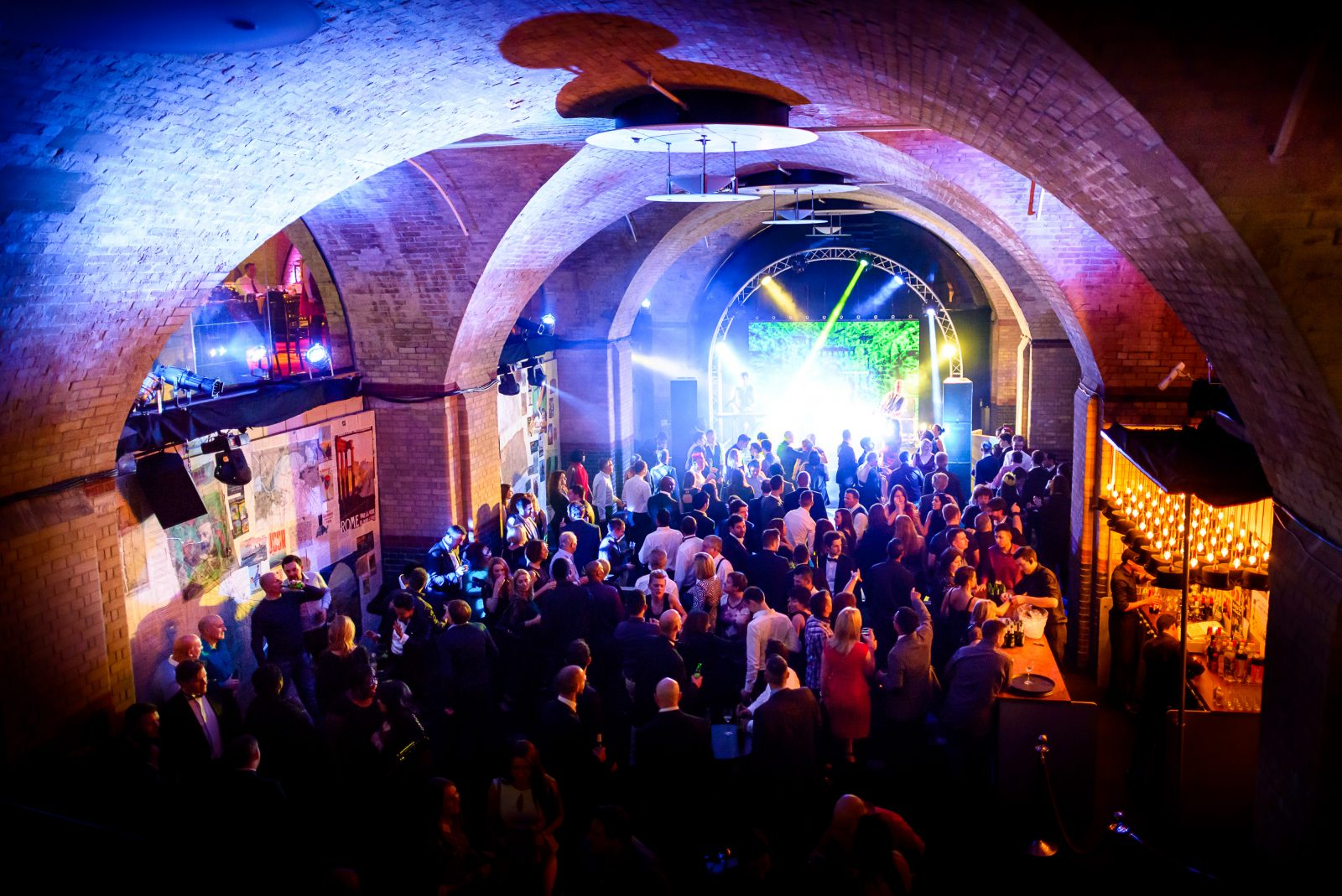 The Vaults At Old Billingsgate Ultimate Experience