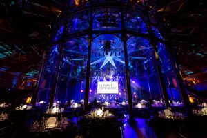 awards dinner in the roundhouse camden