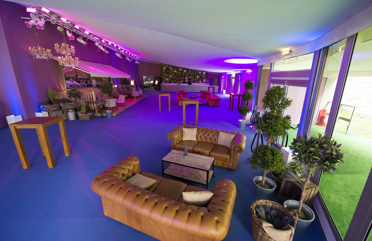 friendly interior for a networking event