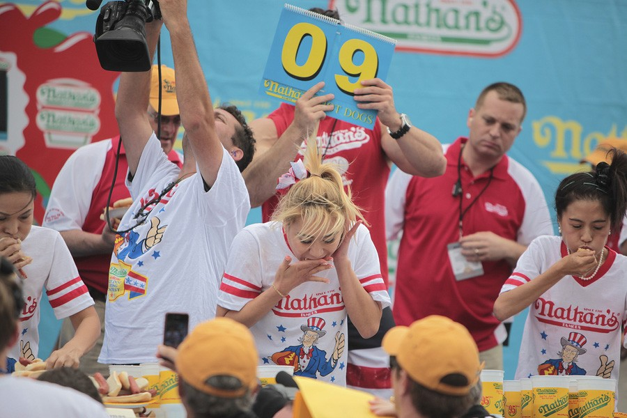eating contest charity idea