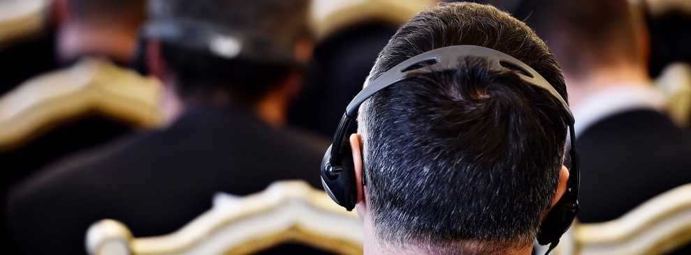 man in headphones, event ideas, ultimate experience