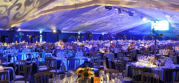 marquee venue decorated, awards ceremony ideas, ultimate experience