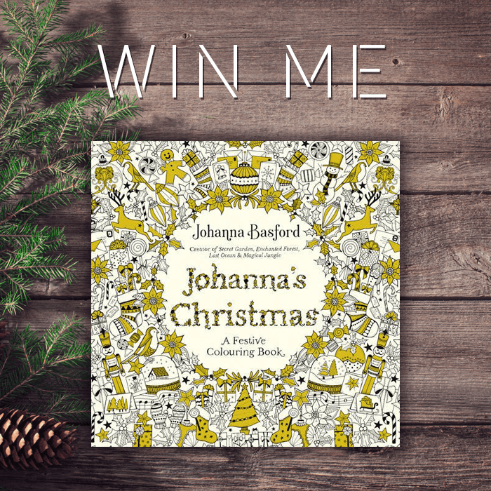 You've got a chance to win this festive colouring book!