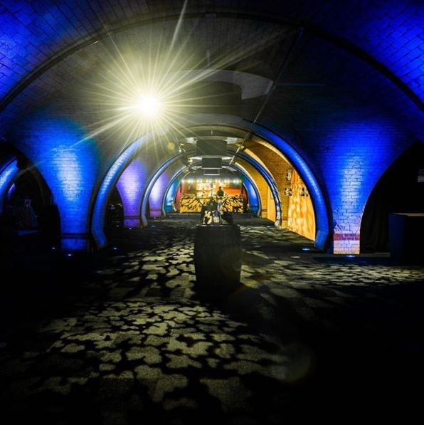 Have you ventured to The Vaults at Old Billingsgate?
