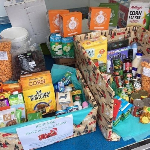 Christmas donations by Create