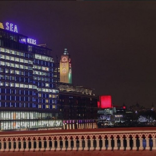 The OXO Tower (and super versatile venue OXO2) stand proudly overlooking the Thames