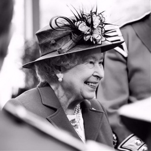 Looking back to when HRM the Queen visited The Artillery Gardens to celebrate 64 years at The HAC