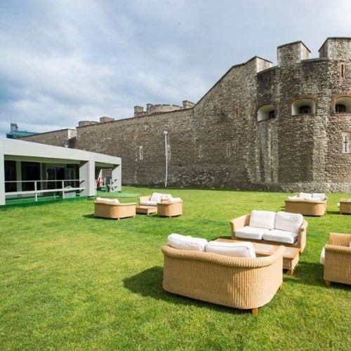 The Pavilion at the Tower of London needs no introduction