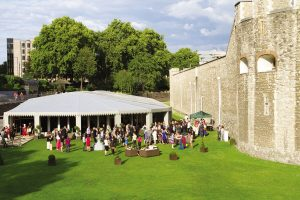 Flexible summer event space in London