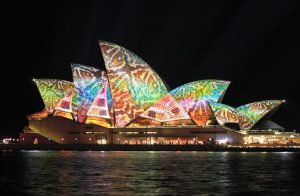 Sydney - projection mapping