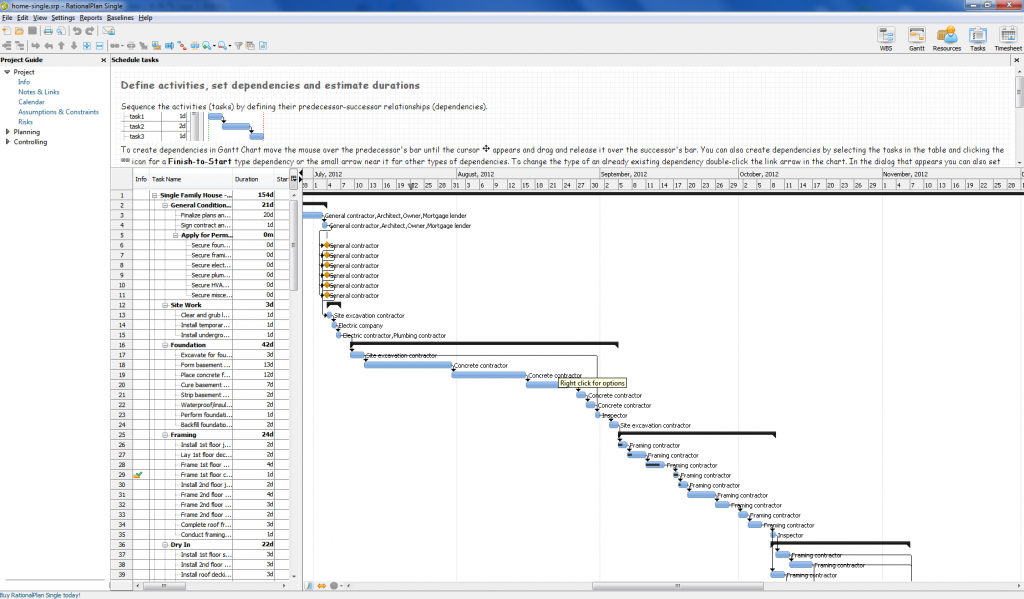 RationalPlan - gantt chart software