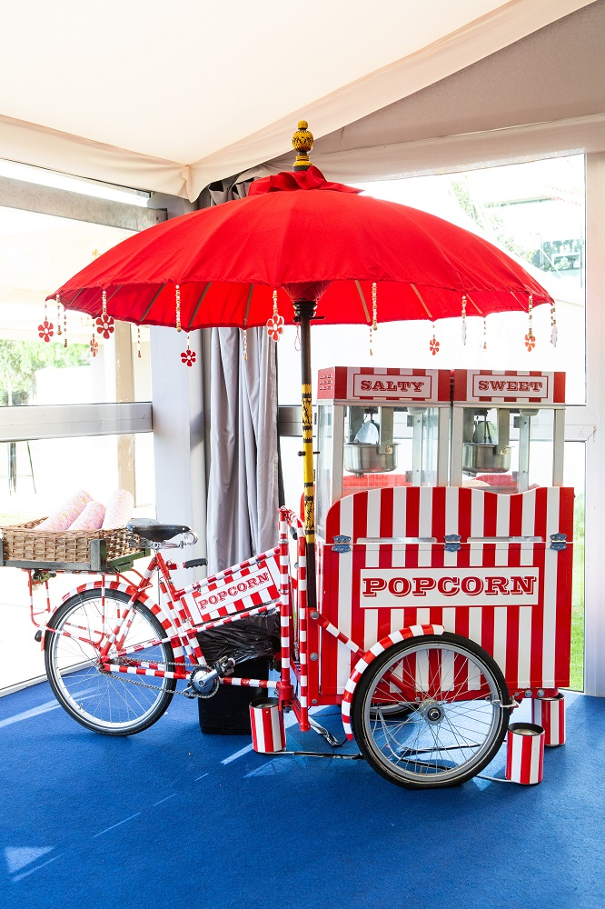 Popcorn Cart City Central at the HAC
