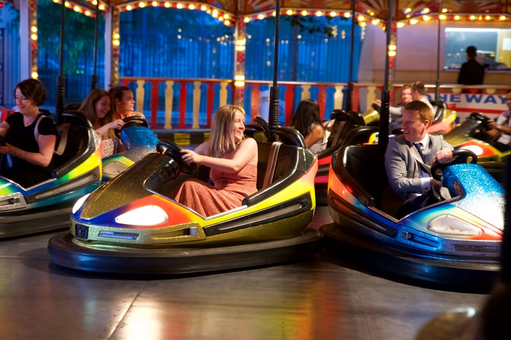 Dodgems at City Central at the HAC
